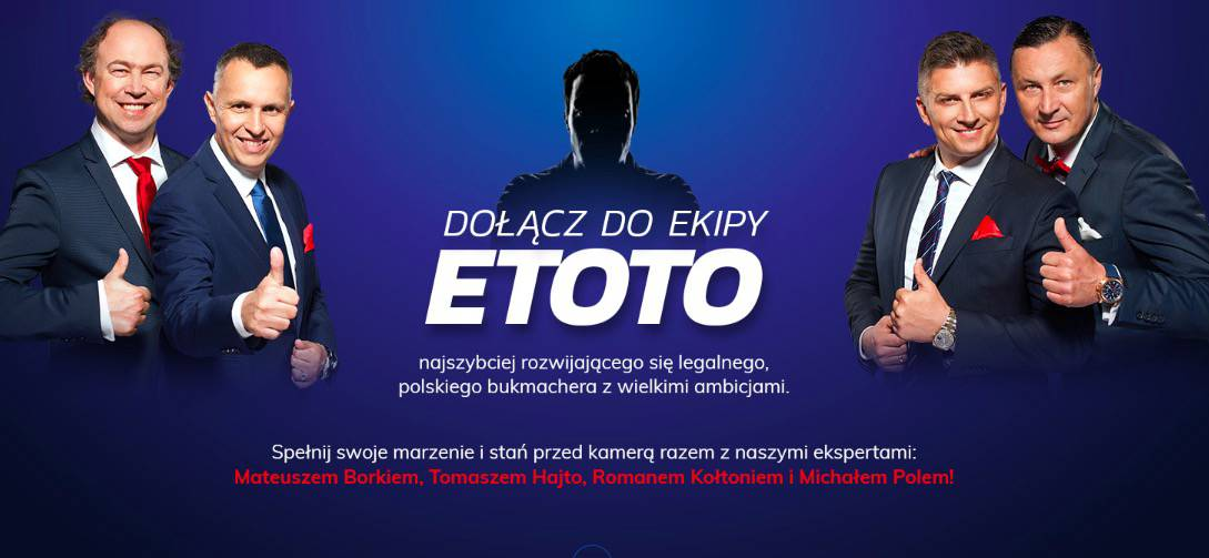 eToto poszukuje nowego pracownika