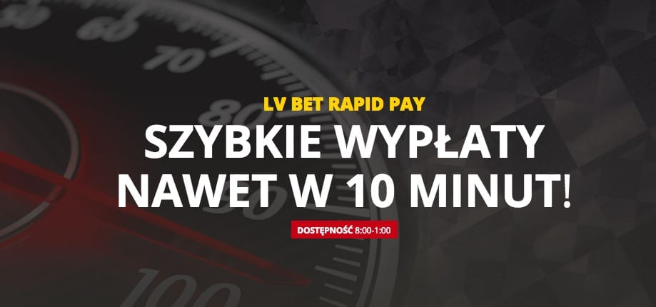 Jak działa opcja Rapid Pay w LV BET?