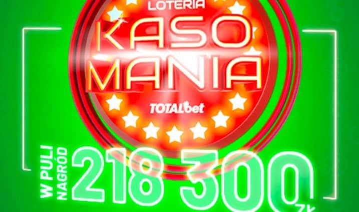 Kasomania Totalbet. Loteria z nagrodami bez obrotu!