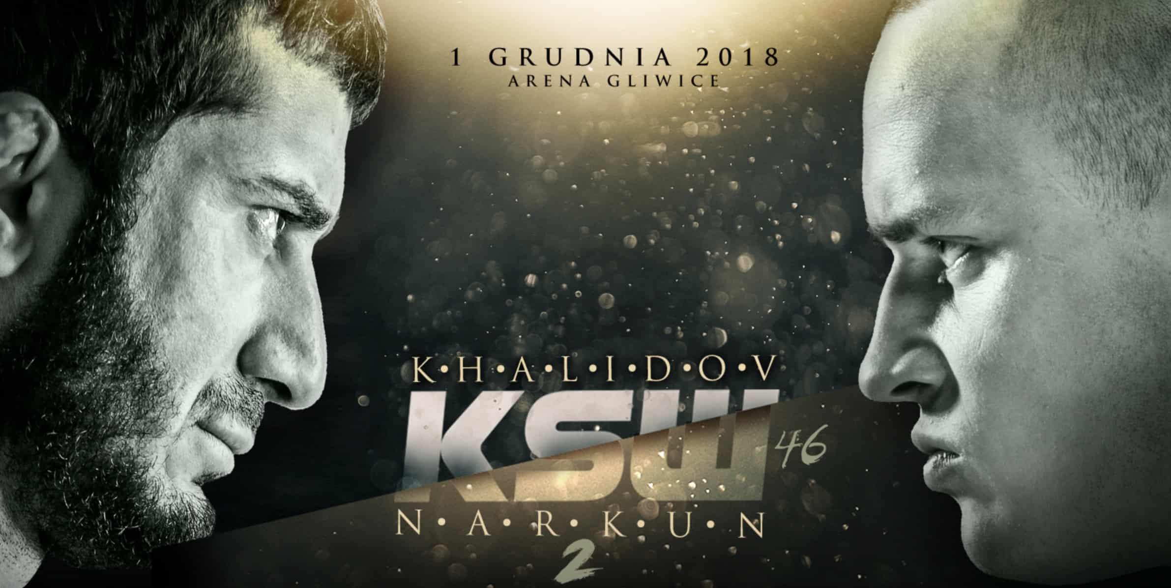 KSW 46 kod promocyjny. Obstawianie MMA