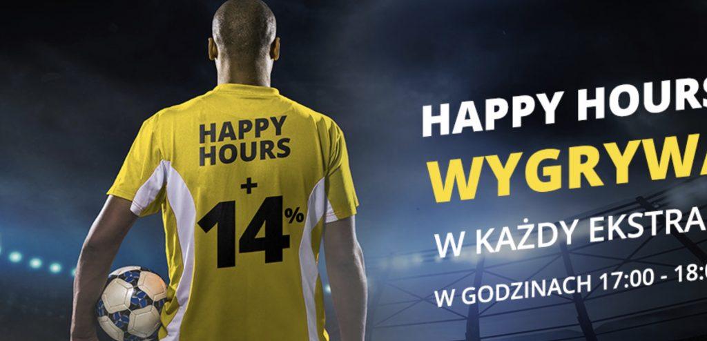 Piątek z Ekstraklasą? Happy Hours w Fortunie online!