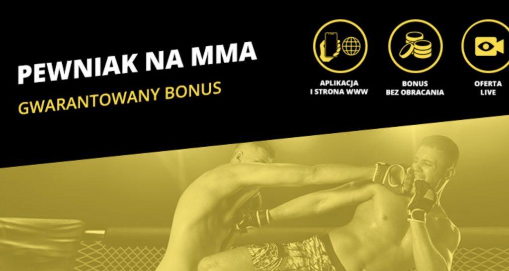 KSW 50 z bonusem od Fortuny. Gwarantowane 20 PLN dla każdego!